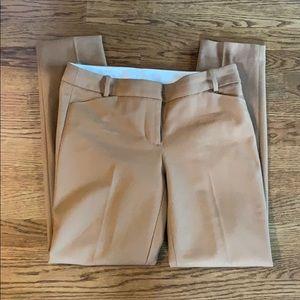 J Crew wool blend camel pants